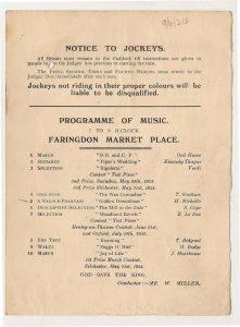 1924 Programme